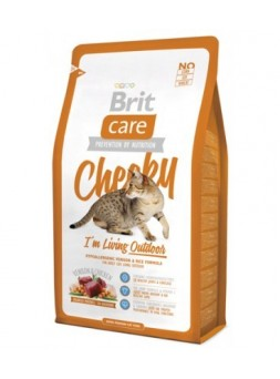 Brit Care Cat – Cheeky | Outdoor Cervo e Riso