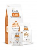 Brit Care Cane Adult Medium Breed - Agnello e Riso per cani adulti di taglia media