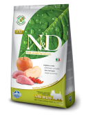 FARMINA N&D DOG GRAIN FREE ADULT MINI - Cinghiale e Mela