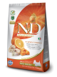 FARMINA N&D GRAIN FREE PUMPKIN ADULT MINI - Merluzzo, Zucca e Arancia