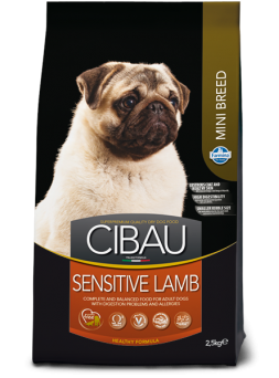 FARMINA CIBAU ADULT SENSITIVE Mini - Agnello