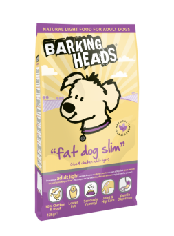 Barking Heads Fat Dog Slim Adult Chicken & Rice Dog Food - Light 2kg
