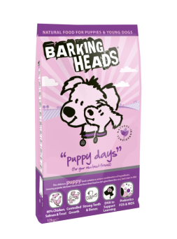 Barking Heads Puppy Days Pollo & Salmone 2kg