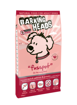 Barking Heads Fusspot Salmon & Potato Adult Dog Food 2kg