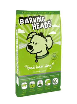 Barking Heads Bad Hair Day Adult Lamb 2kg