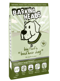 BARKING HEADS Big Foot Bad Hair Day ADULT - Agnello