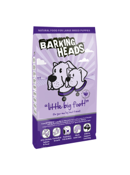 BARKING HEADS Little Big Foot Bad Hair Day Puppy Maxi - Agnello