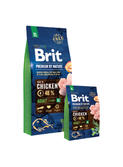 BRIT PREMIUM BY NATURE CANI ADULT XL - Pollo