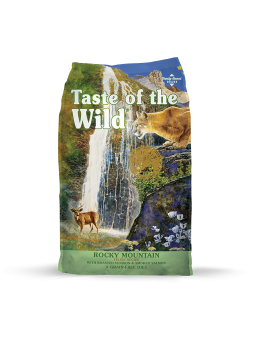 TASTE OF THE WILD - Rocky Mountain Feline - Cervo e Salmone affumicato