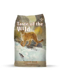 TASTE OF THE WILD - Canyon River Feline - Trota e Salmone affumicato