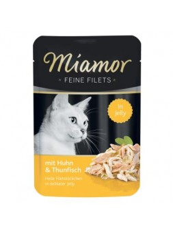 MIAMOR GATTO FEINE FILETS POUCH - Pollo e Tonno