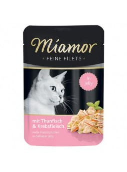 MIAMOR GATTO FEINE FILETS POUCH - Tonno e granchio