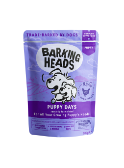 BARKING HEADS cibo umido PUPPY DAYS
