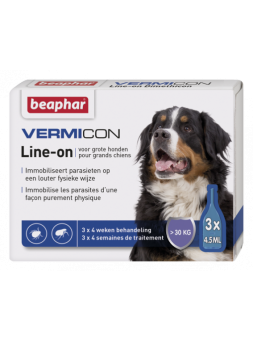 ANTIPARASSITARIO VermiCon Line-On - Pipette per cani medio