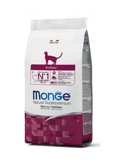 Monge Natural Superpremium Indoor gatto - con Pollo