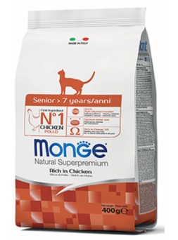 Monge Natural Superpremium Senior gatto - con Pollo