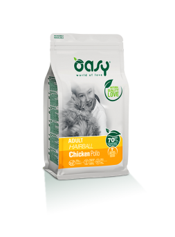 OASY ADULT HAIRBALL POLLO
