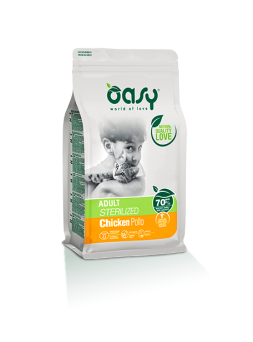 OASY ADULT STERILIZED POLLO